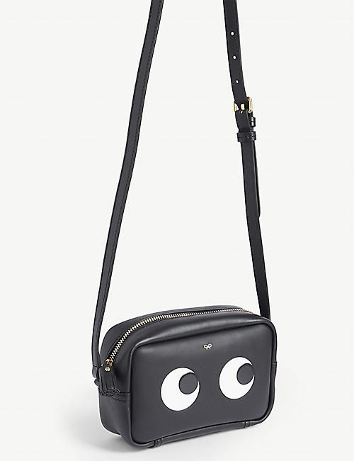 ANYA HINDMARCH Eyes mini leather cross-body bag