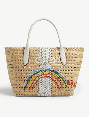 ANYA HINDMARCH Rainbow basket tote