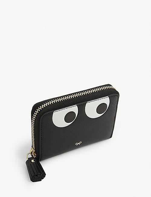 ANYA HINDMARCH Eyes small zip around leather purse