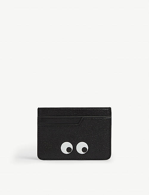 ANYA HINDMARCH: Eyes leather card holder