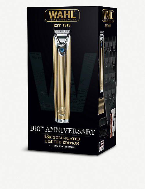 WAHL Limited Edition 18ct gold-plated 100 year anniversary trimmer