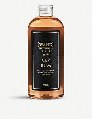 WAHL: 5 Star Bay Rum aftershave 250ml