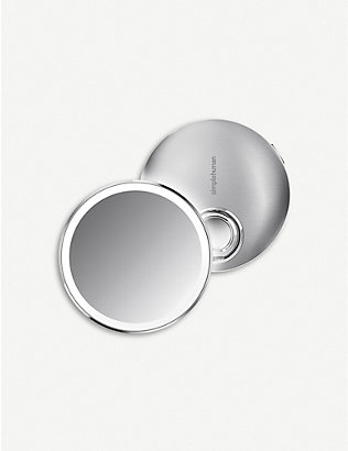 SIMPLE HUMAN: Rechargeable sensor compact mirror