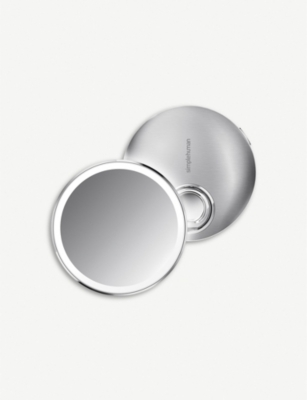 SIMPLE HUMAN Rechargeable sensor compact mirror