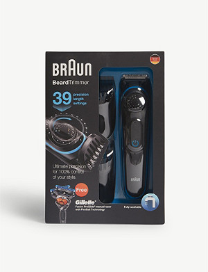 BRAUN BT3040 cordless beard trimmer