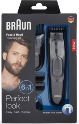 BRAUN Face & Head trimming kit 6-in-1