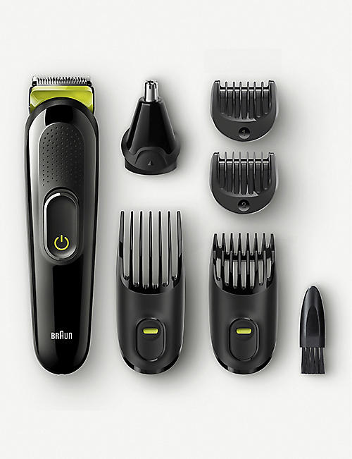 BRAUN 6-in-1 Cordless Multi grooming kit