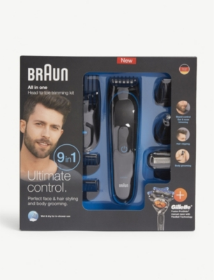 BRAUN All In One head to toe trimming kit