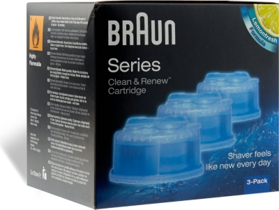 BRAUN Clean & Renew cartridge