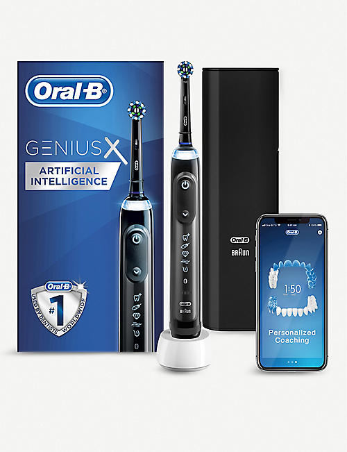 ORAL B: Genius X electric toothbrush