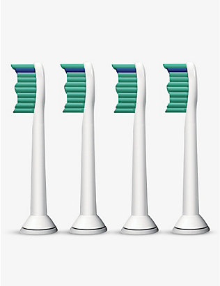 PHILIPS: Pack of four ProResults standard sonic toothbrush heads