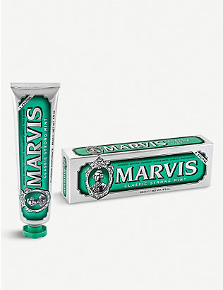 MARVIS: Classic Strong Mint toothpaste 85ml