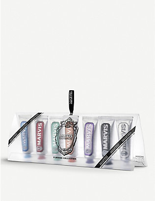 MARVIS: Toothpaste Flavour Collection 25ml pack of seven