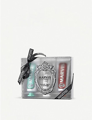 MARVIS: Travel Flavour Trip set of three x 25ml