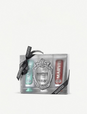 MARVIS Travel Flavour Trip set of three x 25ml