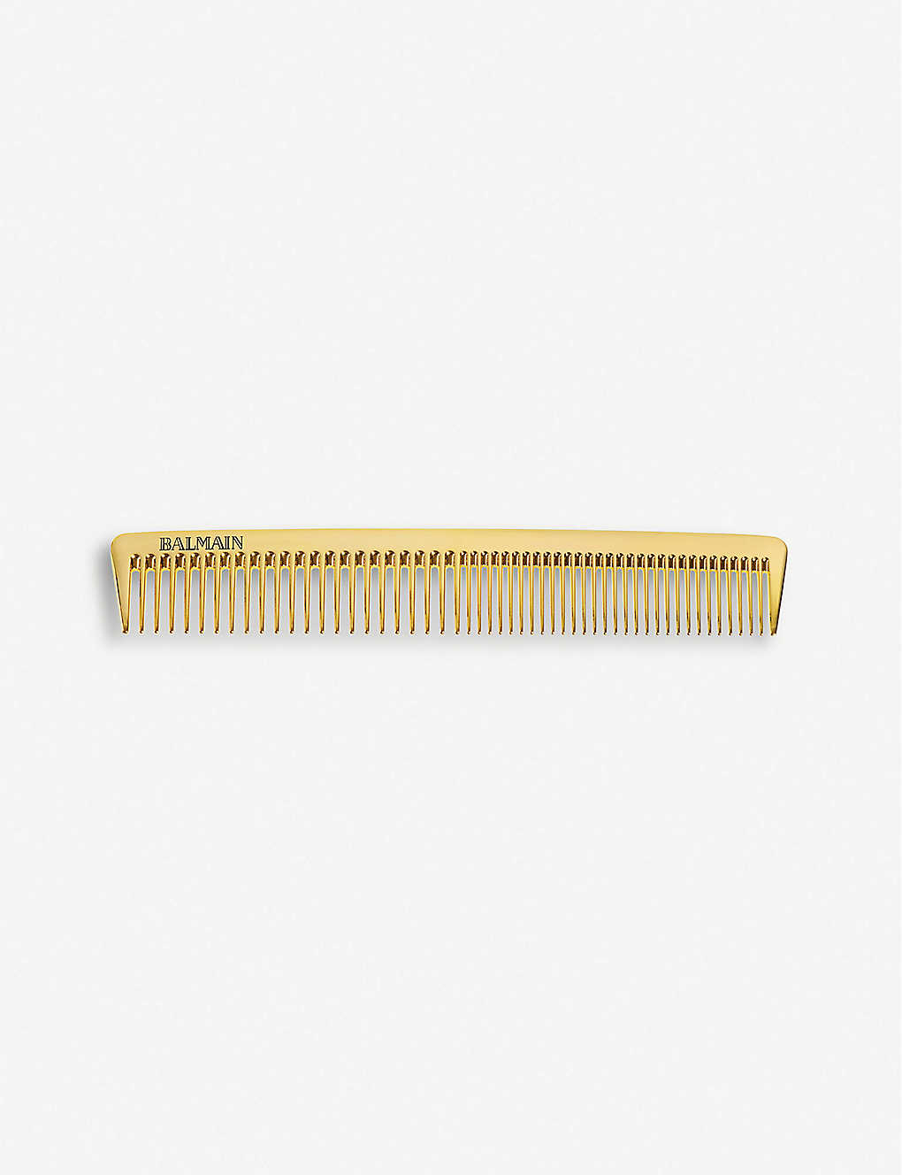 BALMAIN: Golden cutting comb