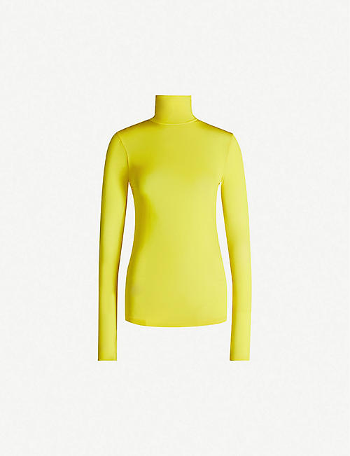 ISABEL MARANT Joyela turtleneck stretch-jersey top