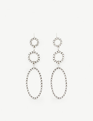 ISABEL MARANT Beaded hoop earrings