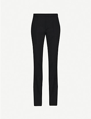 ISABEL MARANT: Annabelle straight mid-rise wool-twill trousers