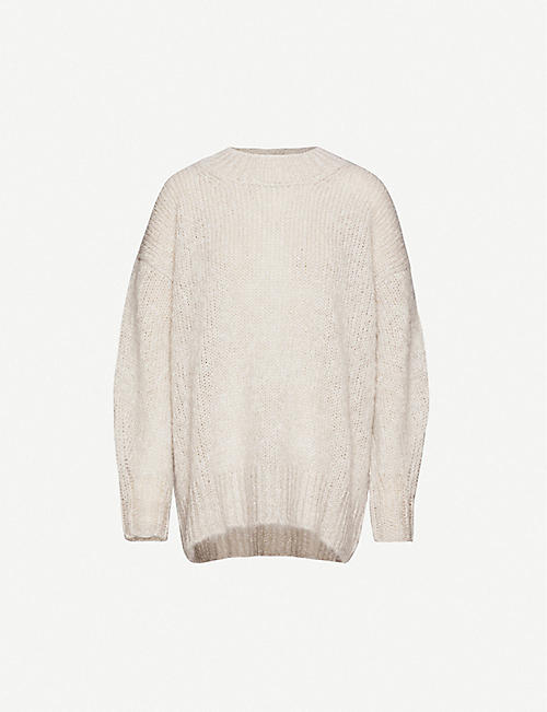 ISABEL MARANT Idol oversized mohair-blend jumper