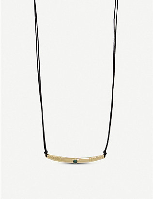 ISABEL MARANT: Triangle motif necklace