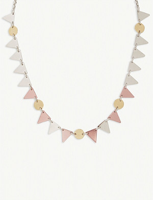 ISABEL MARANT Triangle pendant necklace