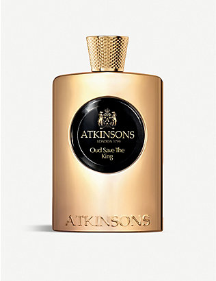 ATKINSONS: Oud Save the King eau de parfum 100ml