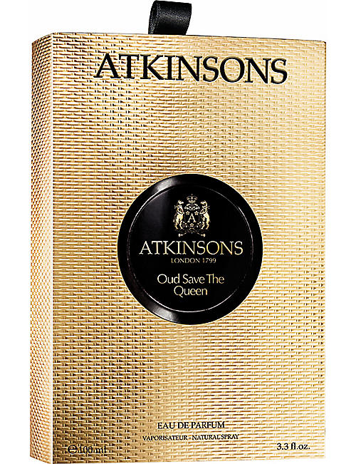 ATKINSONS Oud Save the Queen eau de parfum 100ml