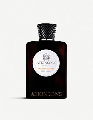 ATKINSONS: 24 Old Bond Street Triple Extract 1 eau de cologne