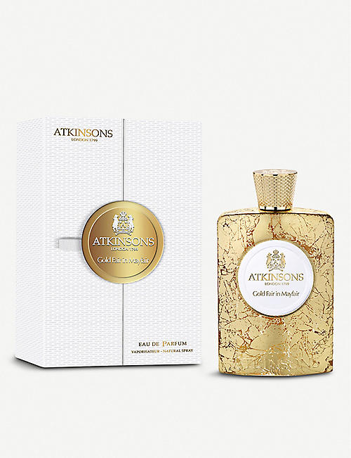 ATKINSONS Gold Fair in Mayfair Eau de Parfume 100ml