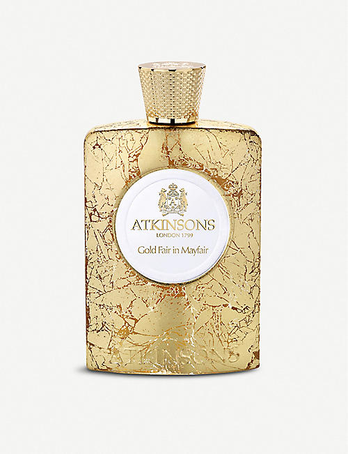 ATKINSONS: Gold Fair in Mayfair Eau de Parfume 100ml