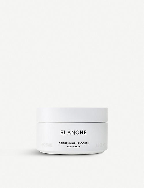 BYREDO: Blanche body cream 200ml