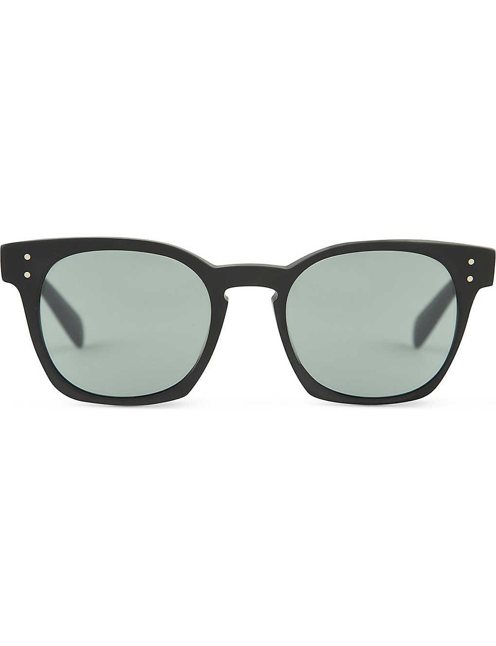54bdc36cfa35 BYREDO Oliver Peoples photochromic sunglasses- L10016 Matte Black and Indigo