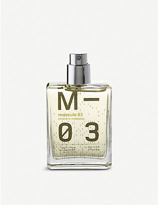 ESCENTRIC MOLECULES: Molecule 03 eau de toilette travel case 30ml