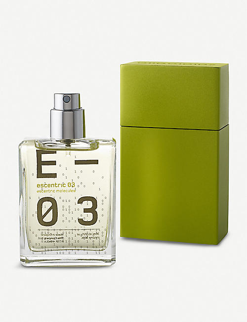 ESCENTRIC MOLECULES Escentric 03 eau de toilette travel case 30ml