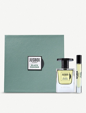 JUSBOX Black Powder Eau de Parfum gift set