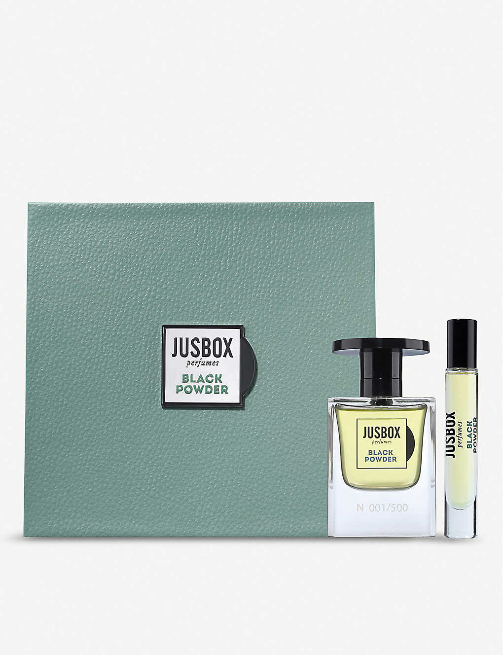 JUSBOX: Black Powder Eau de Parfum gift set