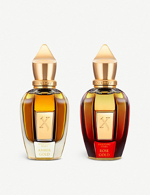 XERJOFF Amber Gold & Rose Gold Parfum 2 x 50ml