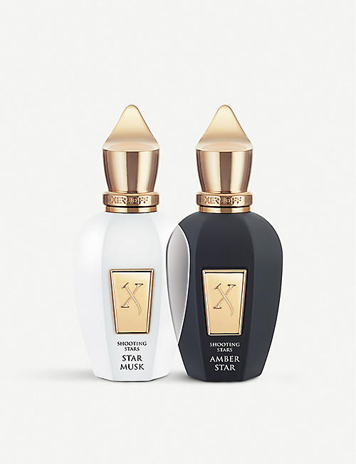 XERJOFF Amber Star and Star Musk eau de parfum set