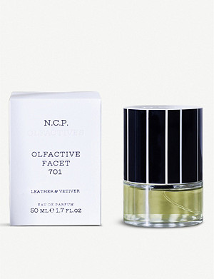 N.C.P OLFACTIVE Leather & Vetiver eau de parfum 50ml
