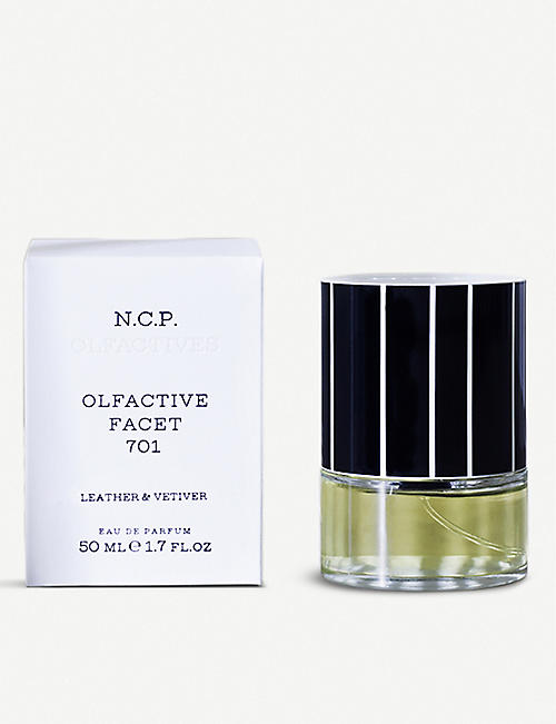 N.C.P OLFACTIVE: Leather & Vetiver eau de parfum 50ml
