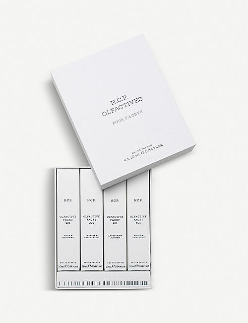 N.C.P OLFACTIVE: Four Facets fragrance collection
