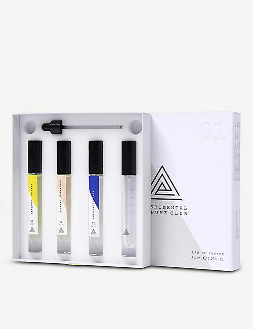 EXPERIMENTAL PERFUME CLUB Layers 01 Blending Collection eau de parfum set