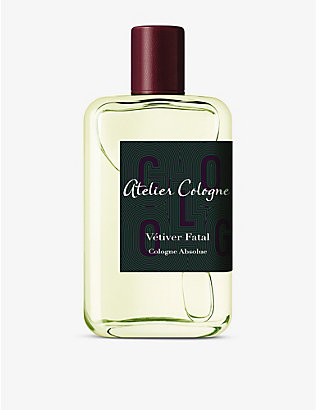 ATELIER COLOGNE: Vétiver fatal Cologne Absolue