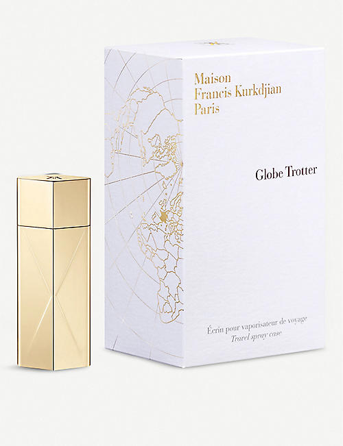 MAISON FRANCIS KURKDJIAN Globe Trotter luxury travel spray case - gold edition