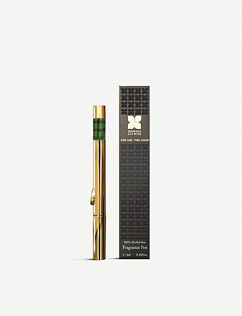 FRAGRANCE DU BOIS: Oud Vert Intense Eau de Parfum Fragrance Pen 3ml