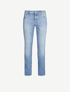 BRUNELLO CUCINELLI Faded slim-fit skinny jeans
