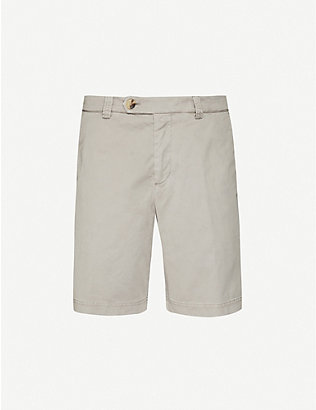 BRUNELLO CUCINELLI: Monochrome stretch-cotton shorts