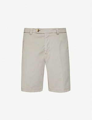 BRUNELLO CUCINELLI Monochrome stretch-cotton shorts