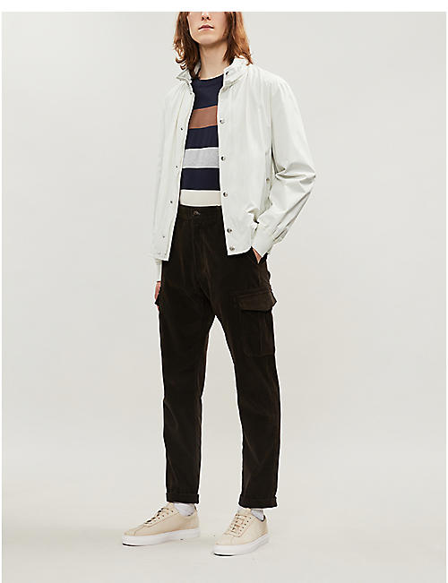 BRUNELLO CUCINELLI Striped cotton jumper